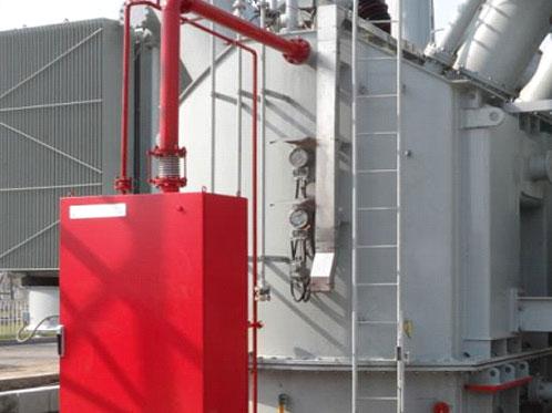 油浸变压器排油注氮灭火装置BPZM-40X2-II-XFFE